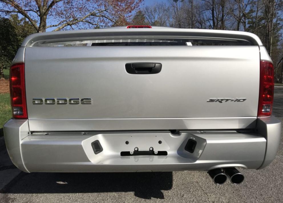 2004 Dodge Ram SRT-10 back end