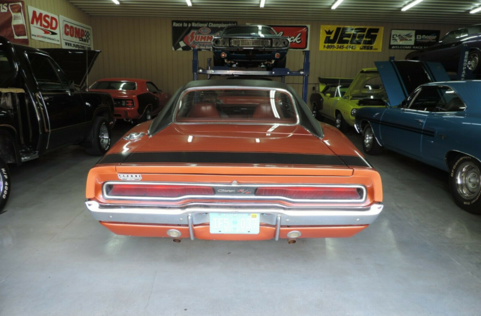 1970 Dodge Charger R/T back end
