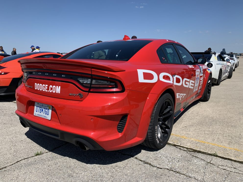 Charger SRT Hellcat Redeye Racing in One Lap of America 2021