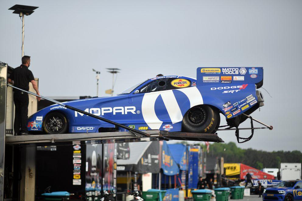 Matt Hagan's car