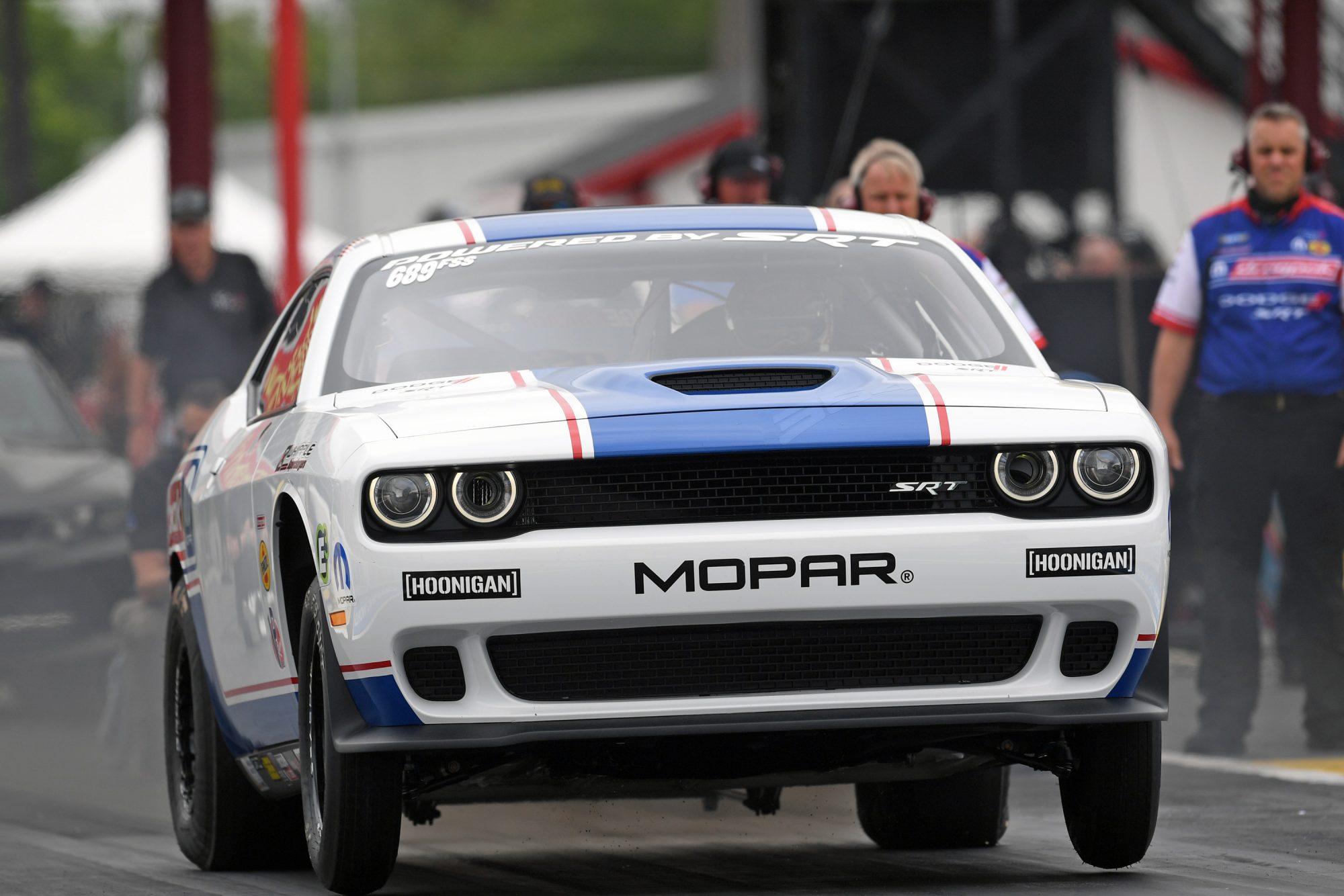 Leah Pruett drag racing