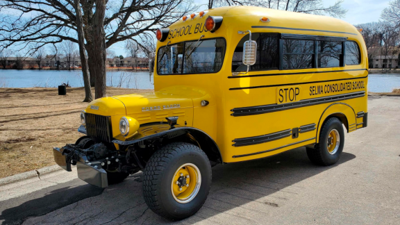 1948 Dodge Power Wagon School Bus