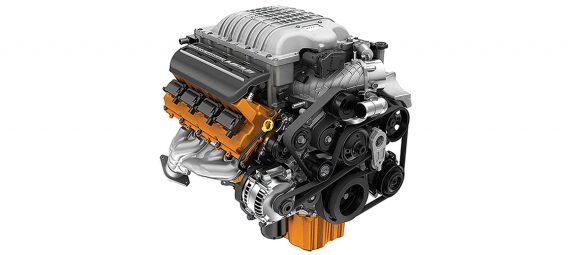 6.2L (376.3 c.i.d) Supercharged HEMI V8