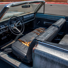 1967 Plymouth Satellite Convertible interior
