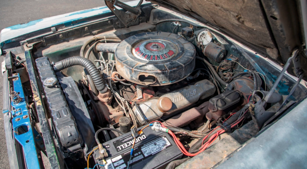 1967 Plymouth Satellite Convertible engine