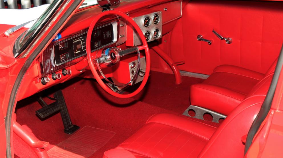 1965 Plymouth Belvedere interior