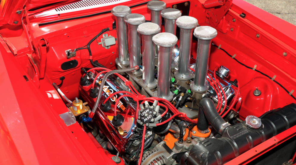 1965 Plymouth Belvedere engine