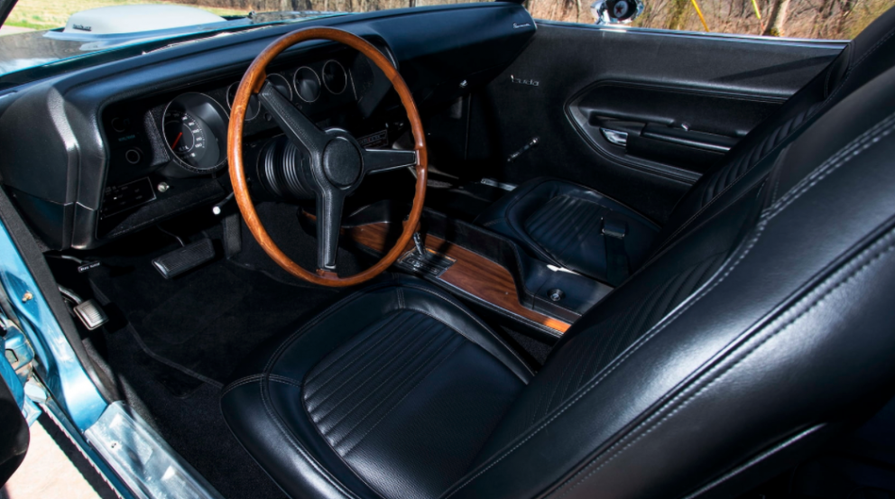 1970 Plymouth HEMI Cuda interior