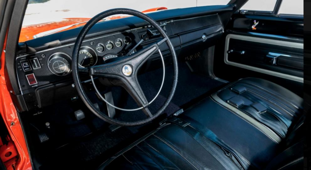 1970 Plymouth Superbird interior