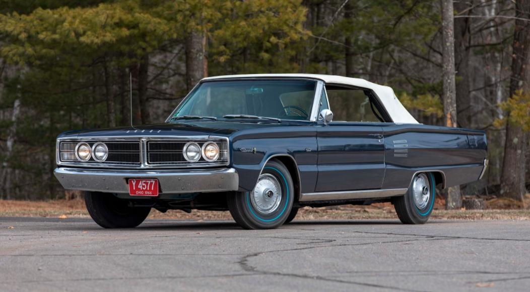 1966 Dodge HEMI Coronet 500 Convertible