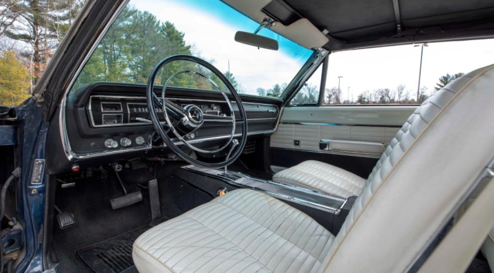 1966 Dodge HEMI Coronet 500 Convertible interior