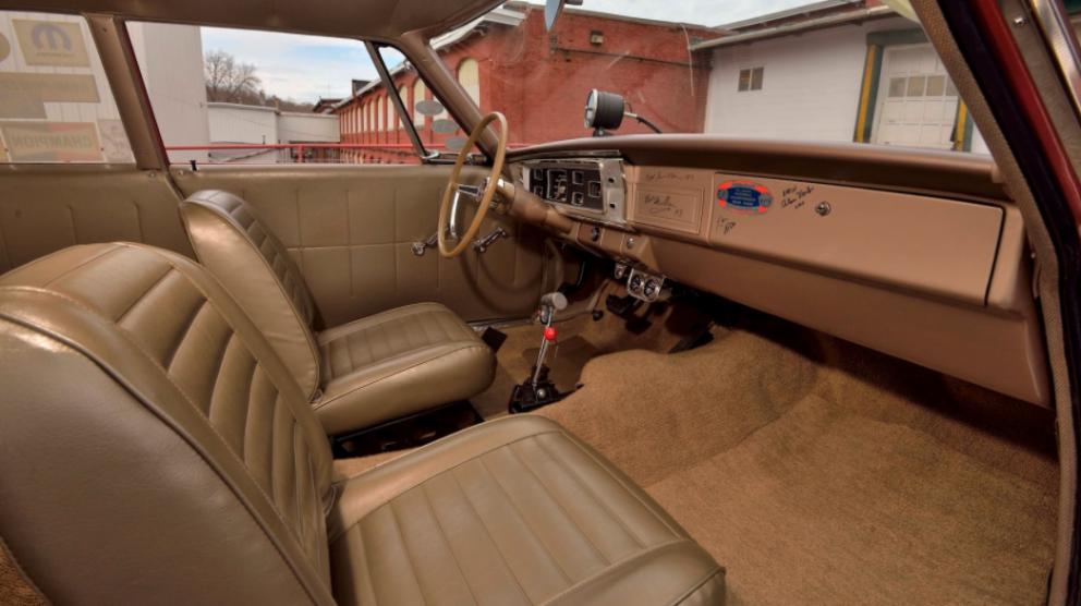1965 Plymouth Belvedere A990 Lightweight interior