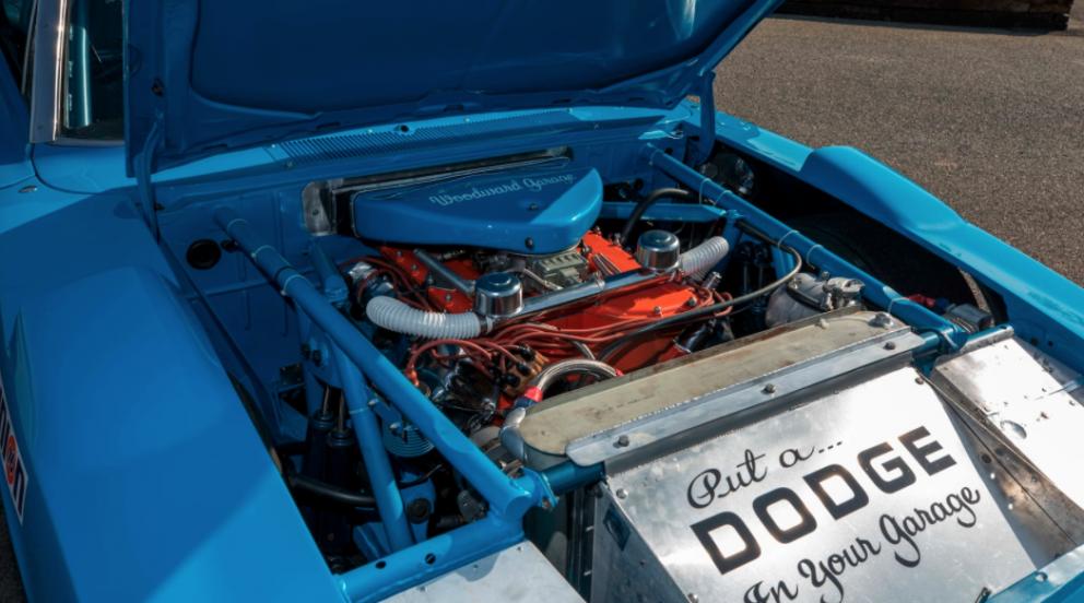 1969 Dodge HEMI Daytona Race Car engine