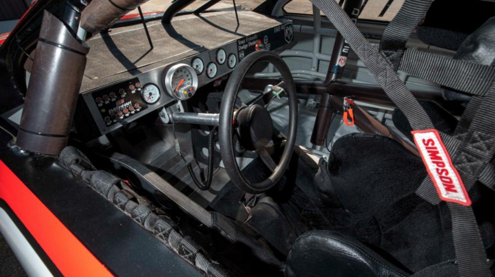 2001 Dodge Intrepid Race Car interior