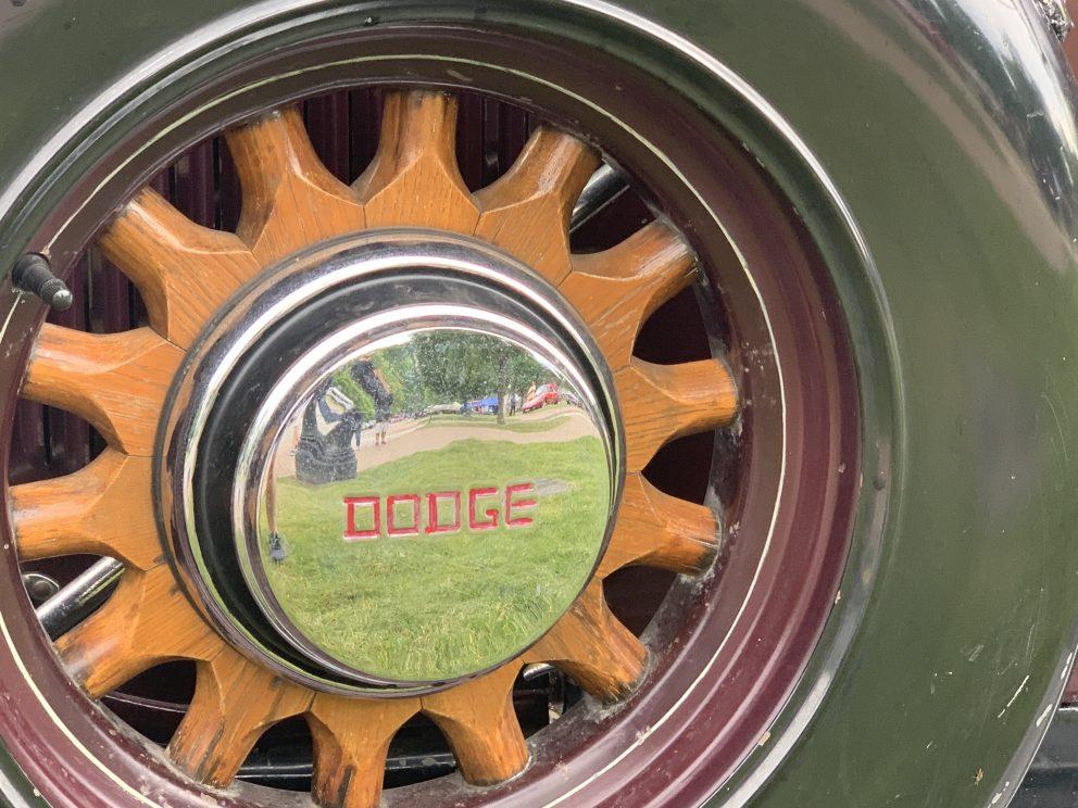 Dodge wood wheels
