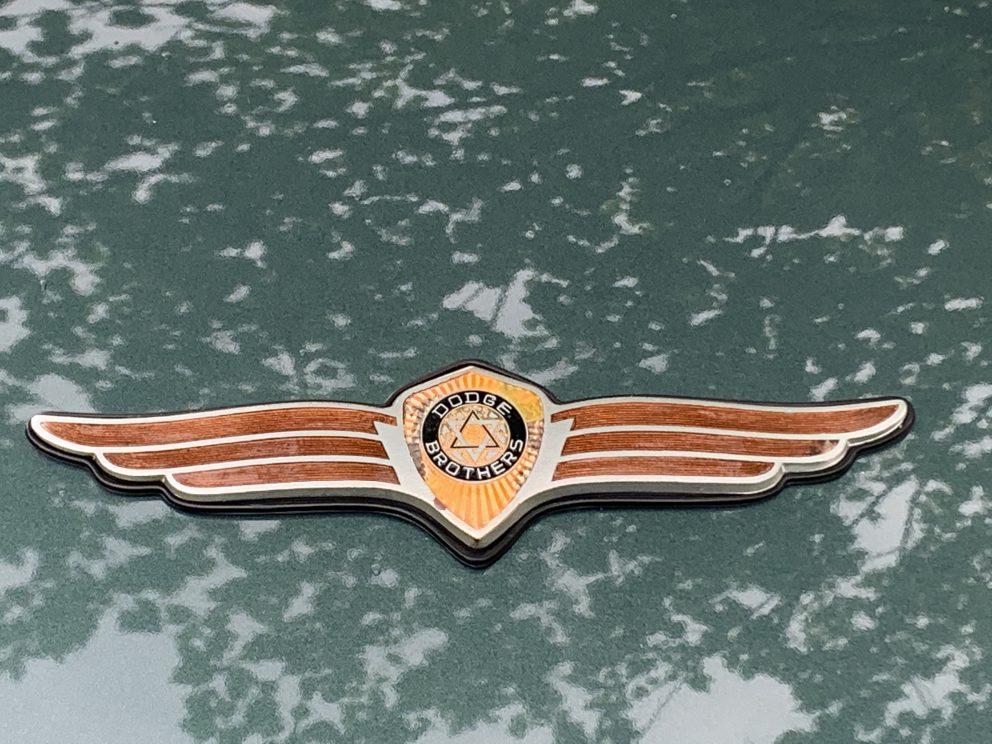 Vintage Dodge emblem