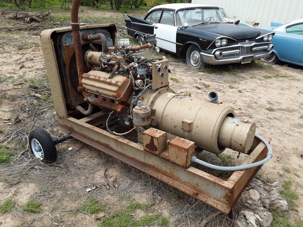 Chrysler Industrial Generator