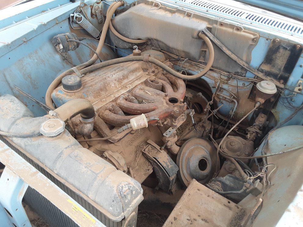 1961 Plymouth Savoy Wagon engine