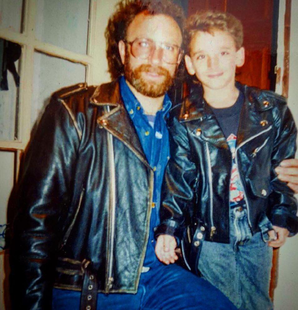 Matt and his dad
