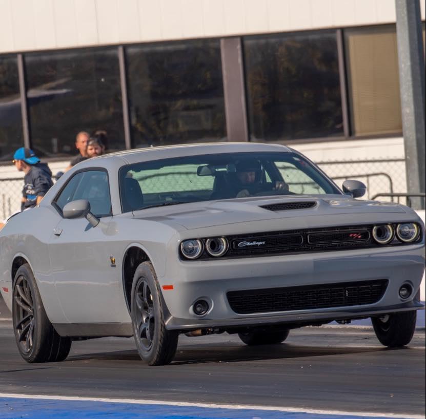 Challenger Scat Pack Drag Racing