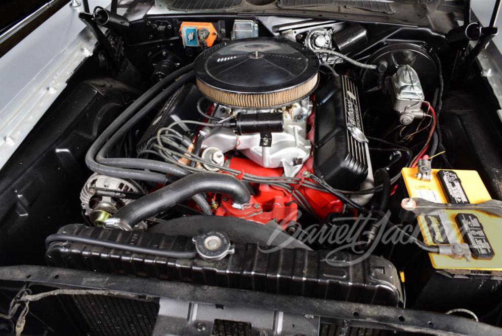 1973 Dodge Challenger Custom Coupe engine