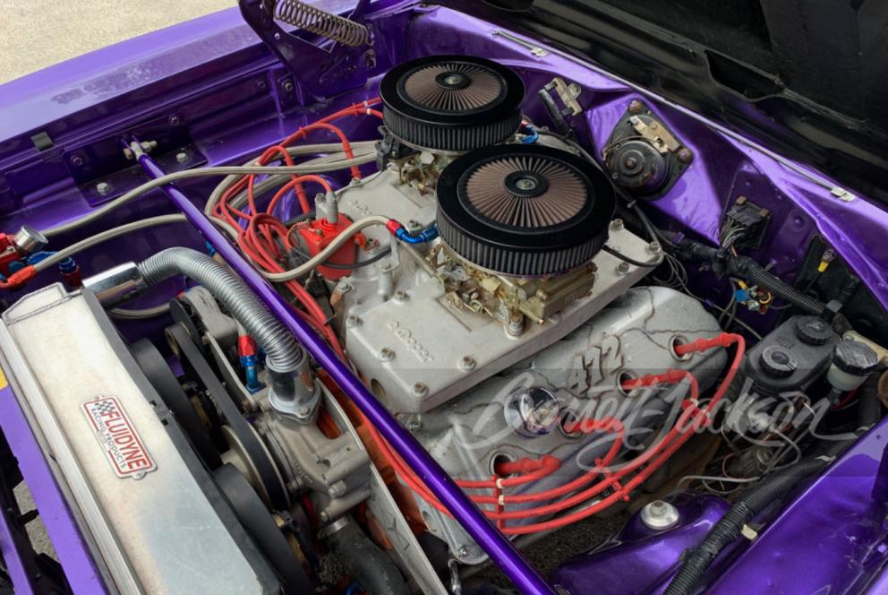 1970 Plymouth GTX HEMI Custom Coupe engine