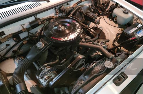 1990 Dodge Dakota convertible pickup engine