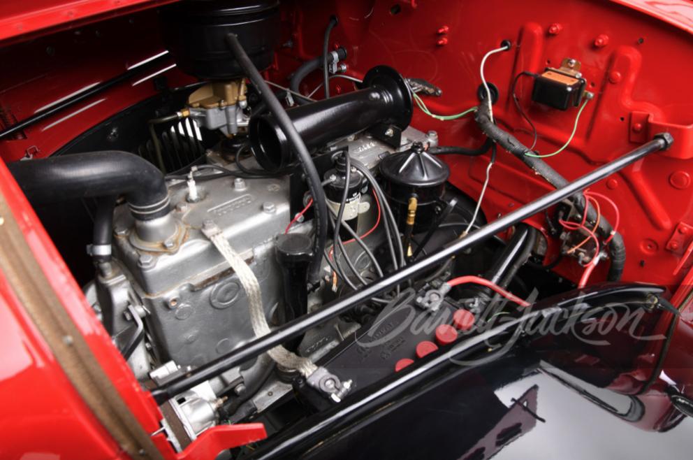 1961 Dodge Power Wagon engine