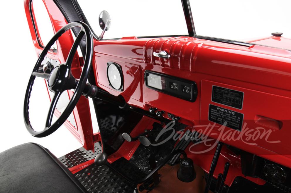 1961 Dodge Power Wagon interior