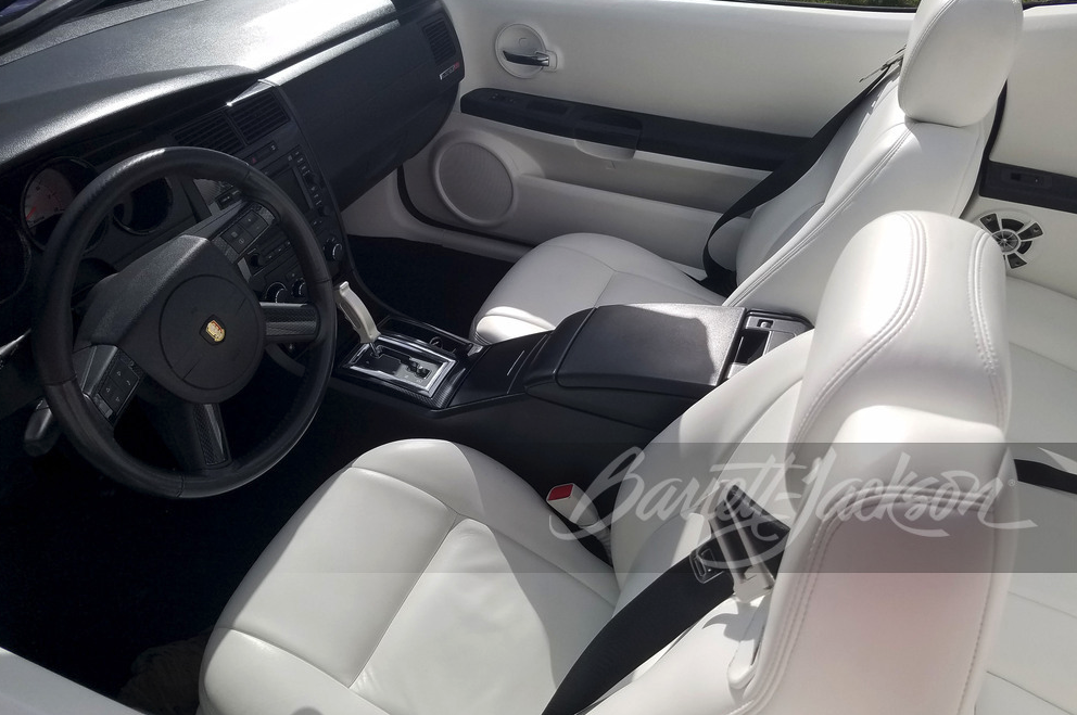 2007 Dodge Charger custom convertible interior