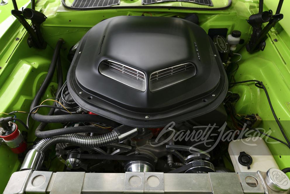 1971 Plymouth Barracuda custom convertible engine