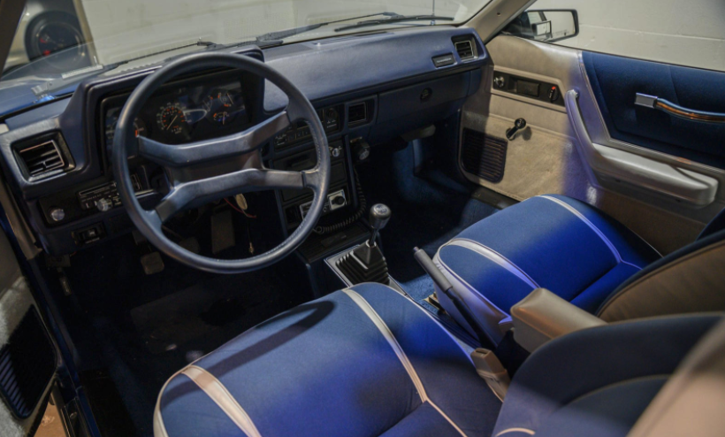 1984 Dodge Shelby Charger front interior