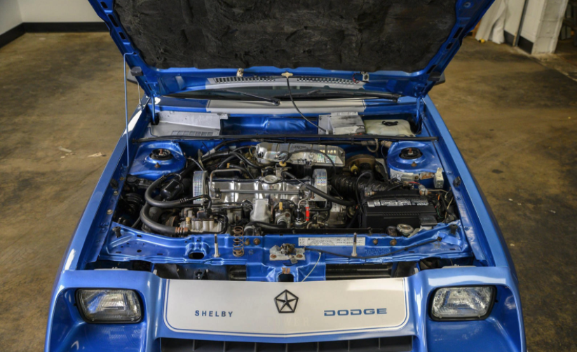 1984 Dodge Shelby Charger engine