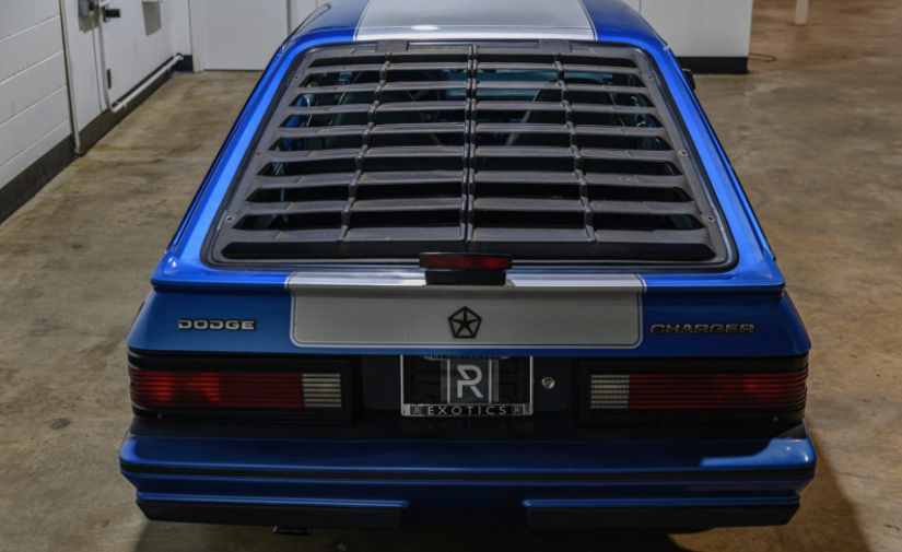 1984 Dodge Shelby Charger rear end