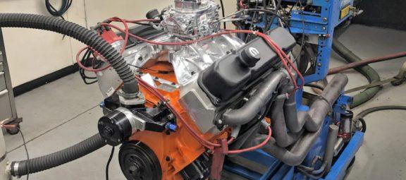 440 cubic-inch big-block Mopar Wedge engine