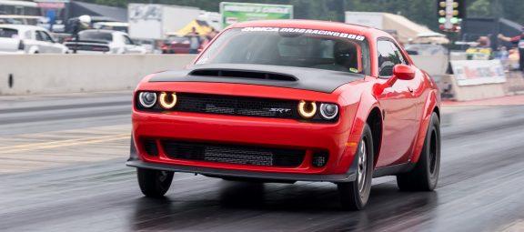 Challenger drag racing