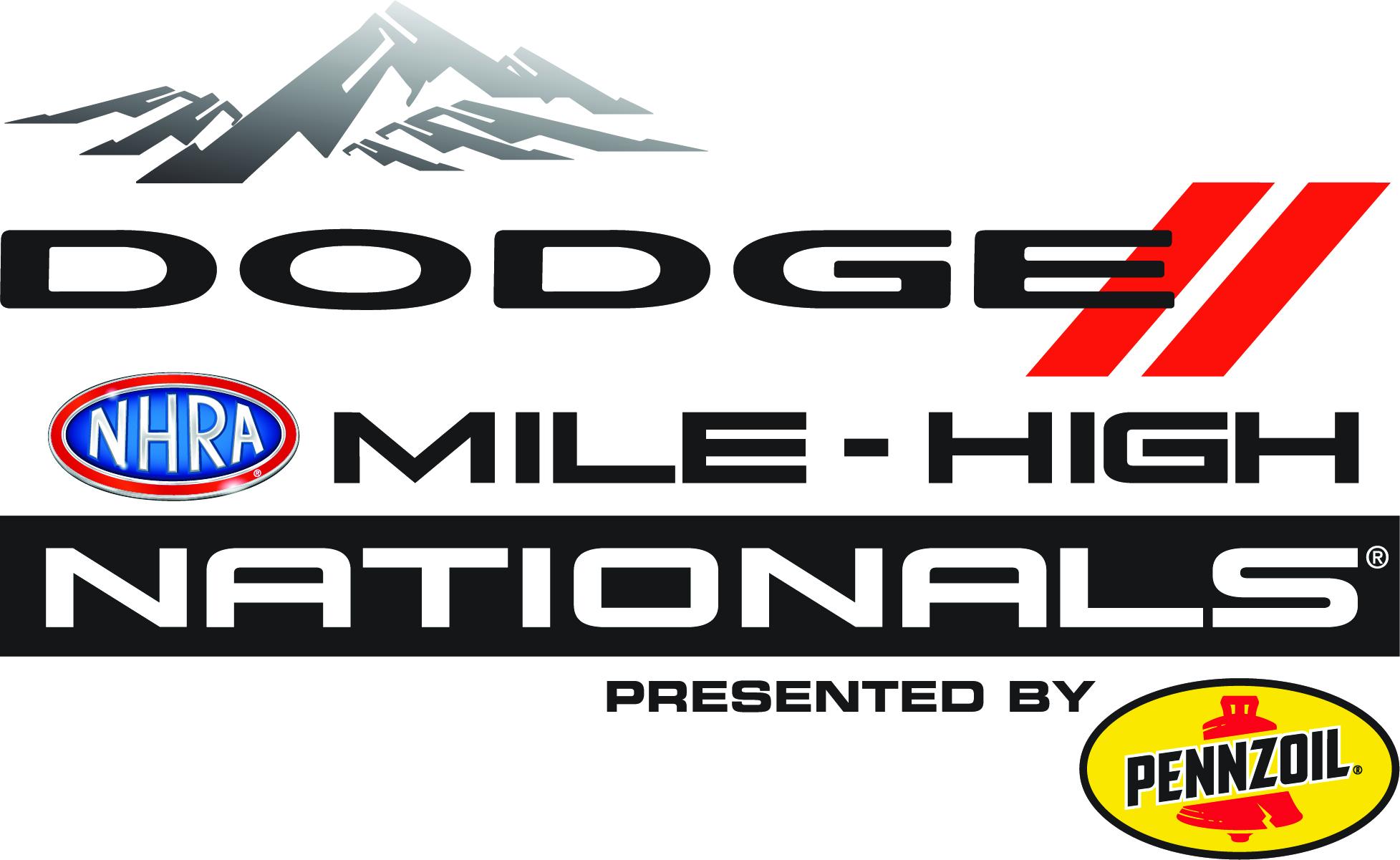 Dodge Mile High Nationals event logo