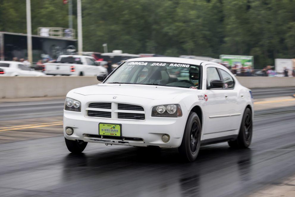 Charger drag racing