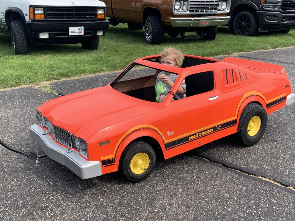 Mopar vehicle on display at Mopars at the Red Barns