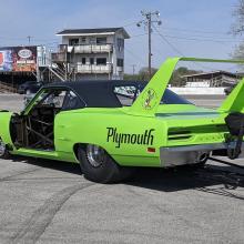 Custom Plymouth vehicle build