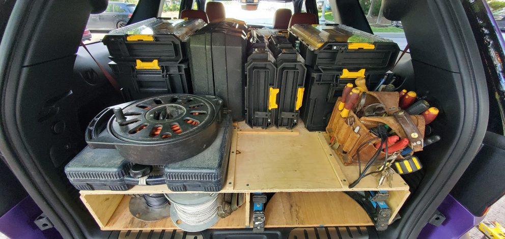 Dodge Durango SRT Hellcat packed with equipment