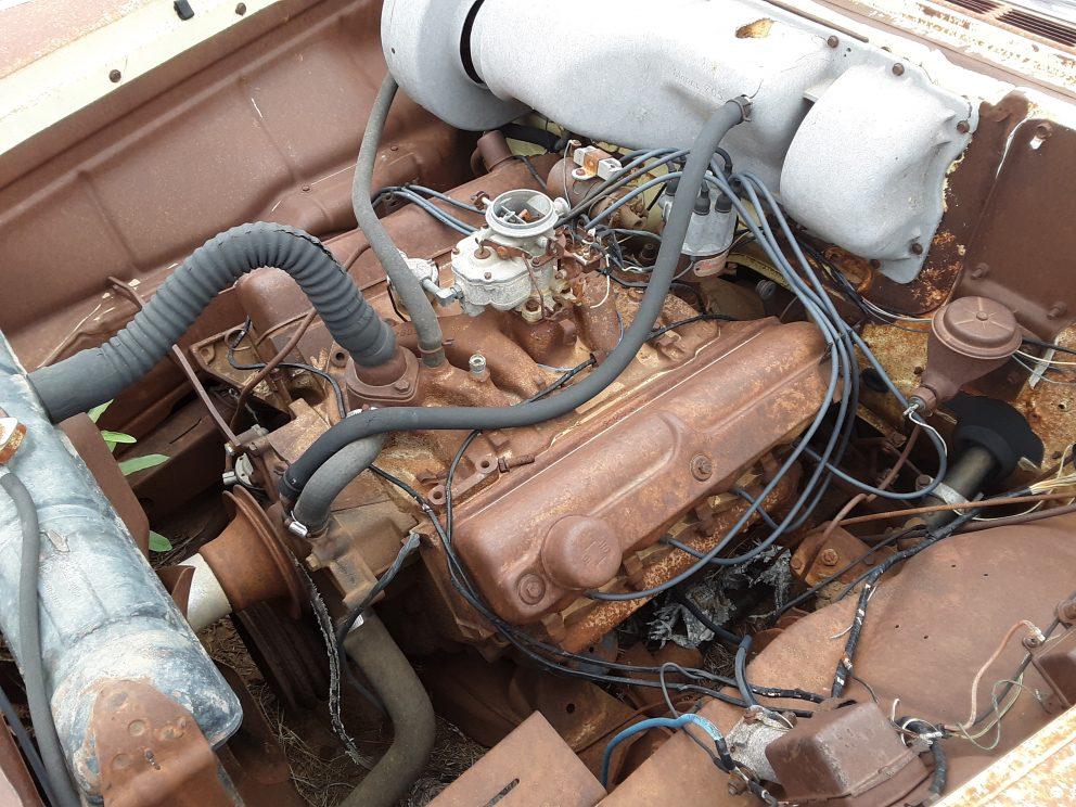 1957 Plymouth Savoy engine