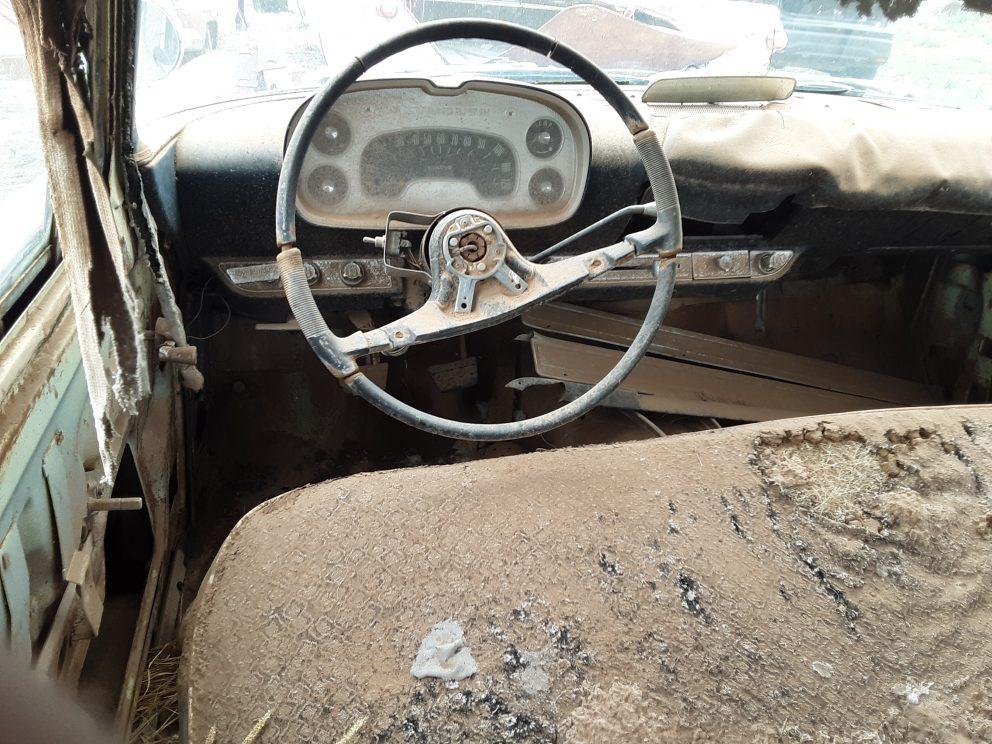 1957 Plymouth Savoy interior