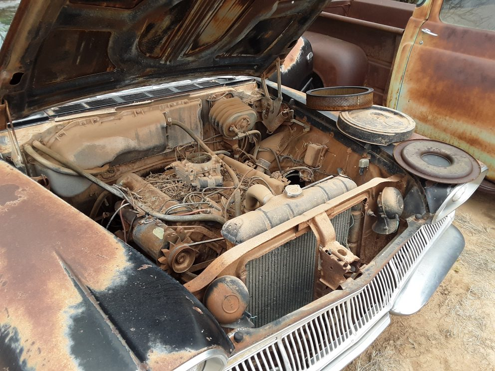 1960 Dodge Dart Pioneer interior