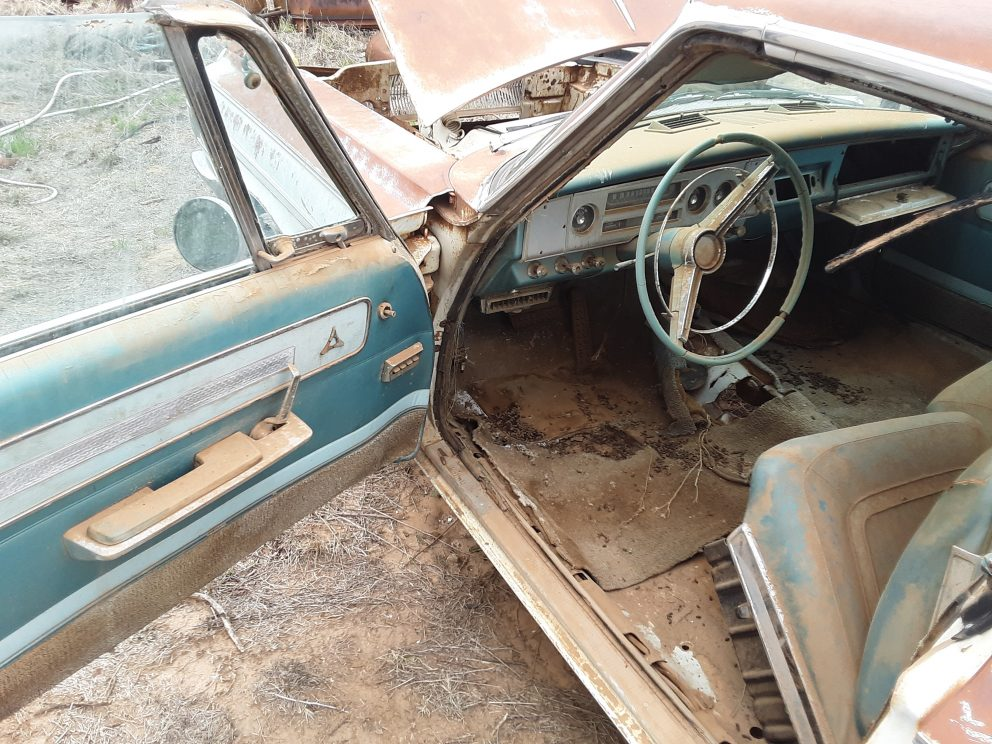 1967 Dodge Polara 500 interior