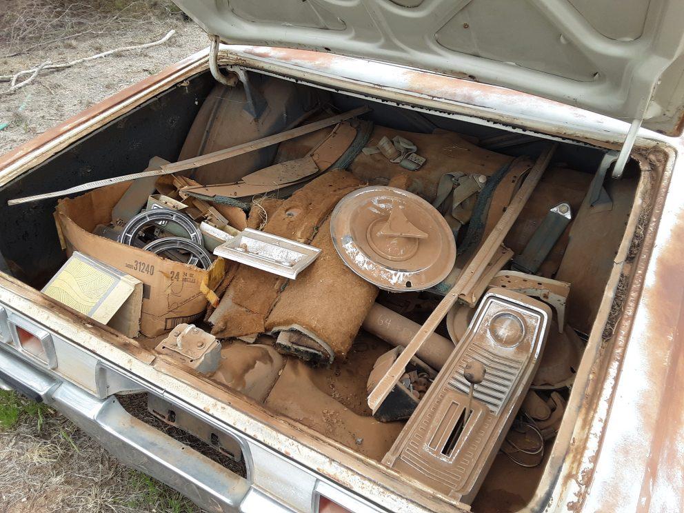 1967 Dodge Polara 500 engine