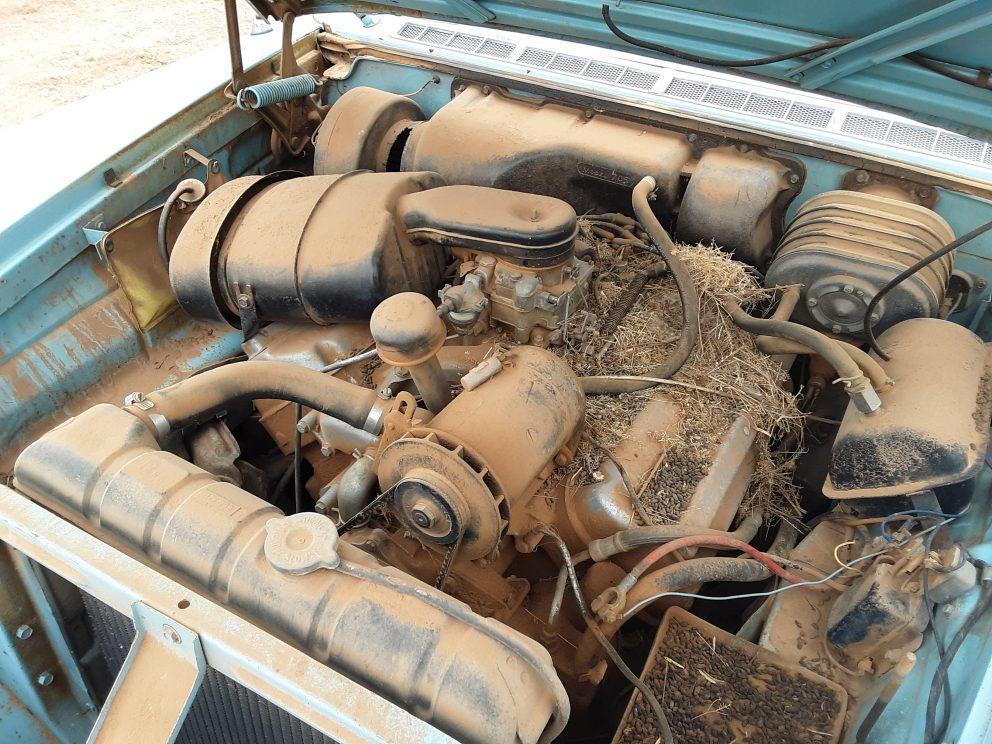 1957 Chrysler Crown Imperial engine
