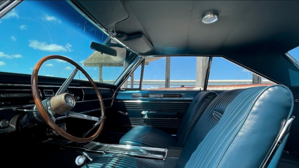 1967 Dodge Coronet R/T Hardtop interior