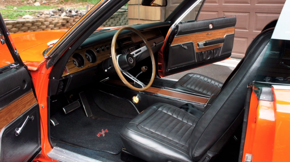 1970 Dodge Charger R/T SE interior