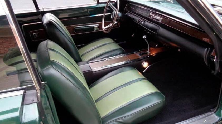 1968 Plymouth GTX Convertible interior